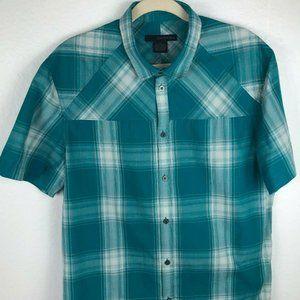 CALVIN KLEIN Jeans Short Sleeve Casual Shirt sz L